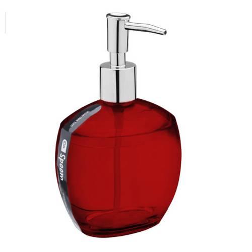 Porta Sabonete Líquido Spoom Vermelho