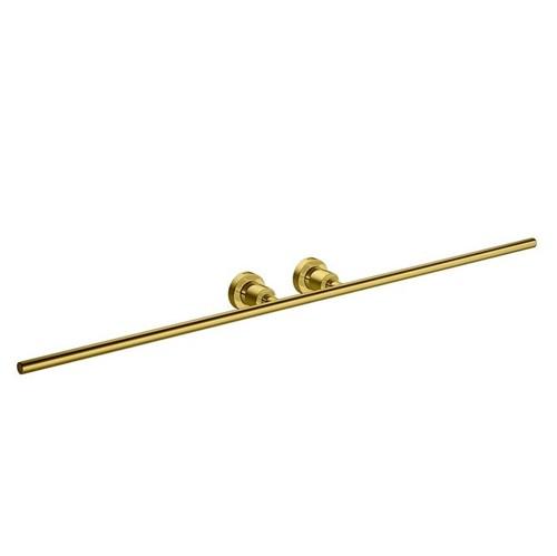 Porta Toalha Barra Duplo Slim Gold - 2042.GL.SLM - Deca - Deca