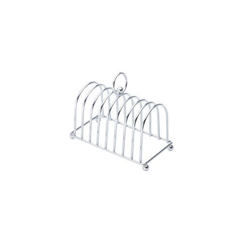 Porta-torradas de Ferro Cromado Lyor 19x10x15cm