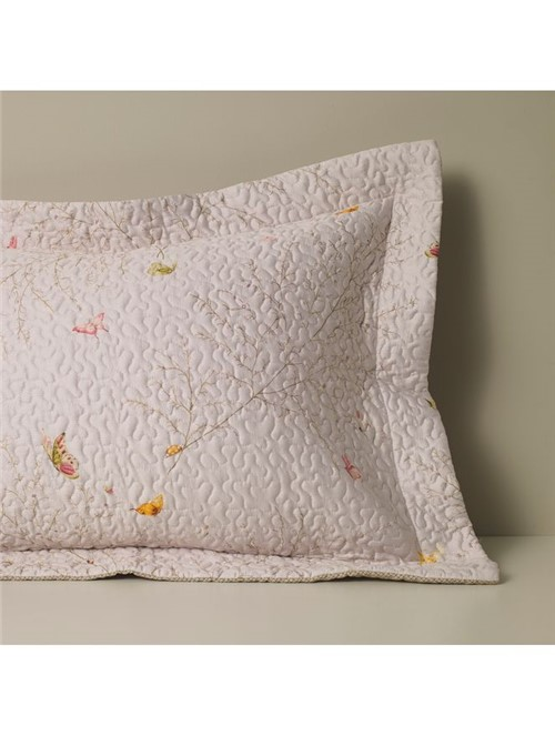 Porta Travesseiro Ladybird Dupla-face - Areia - 50x70