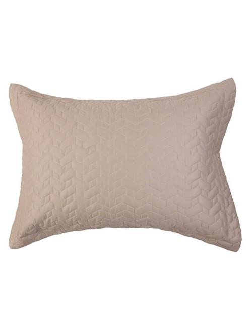 Porta Travesseiro Matelassado Levi Nude 50X70cm