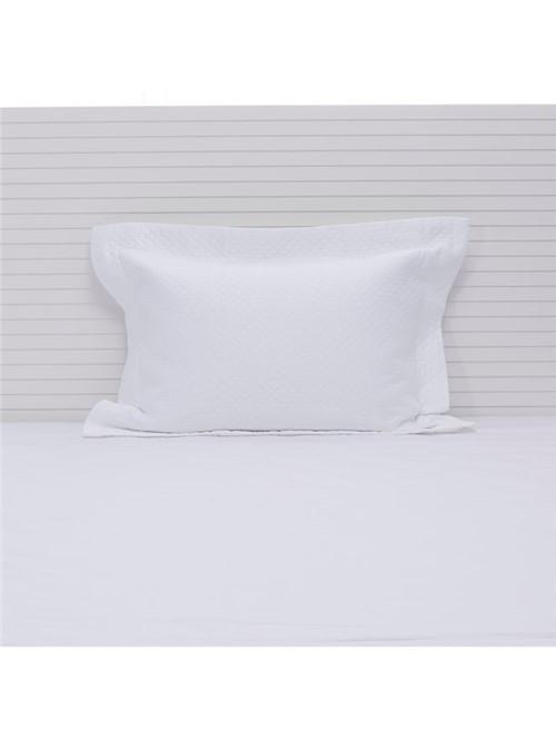 Porta Travesseiro Minute Egípcio Branco 50X70cm