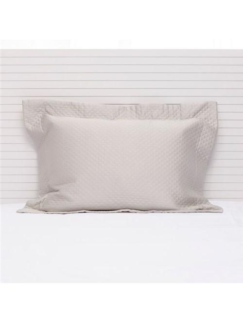 Porta Travesseiro Minute Egípcio Gelo Porta Travesseiro Minute Gelo 50X70cm