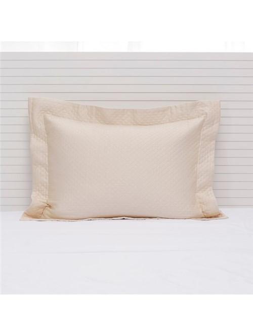 Porta Travesseiro Minute Egípcio Marfim 50X70cm