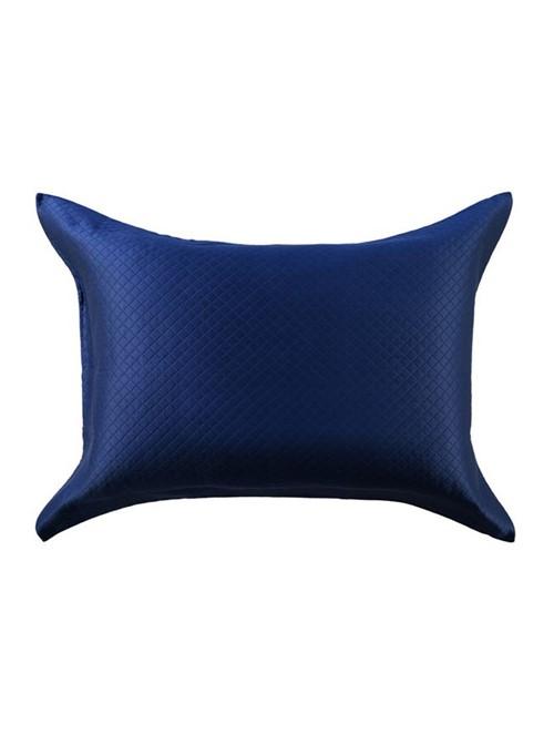 Porta Travesseiro Minute Egípcio Navy Blue 50X70cm
