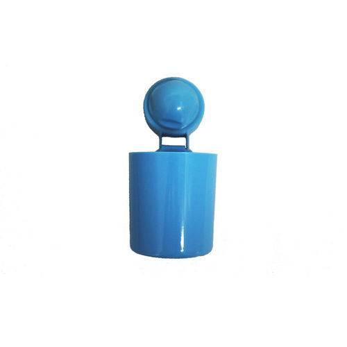 Porta Treco com Ventosa Azul Sq1066 Basic Kitchen