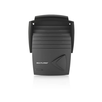 Porteiro Eletrônico C/Fio 2 Saídas Modulo Externo Plástico ABS Preto/Branco Multilaser - SE401 SE401