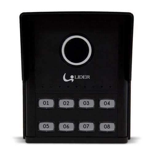 Porteiro Eletrônico Coletivo 8 Pontos Smart Lr 808 Líder
