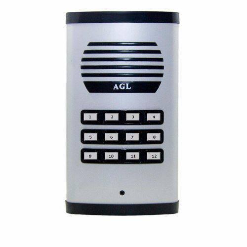 Porteiro Eletrônico Coletivo Agl 12 Pts Unid Ext