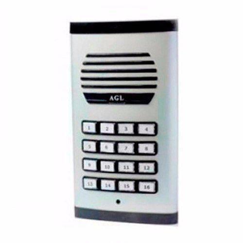 Porteiro Eletrônico Coletivo Agl 16 Pts Unid Externo
