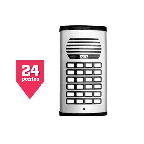 Porteiro Eletrônico Coletivo Agl 24 Pontos