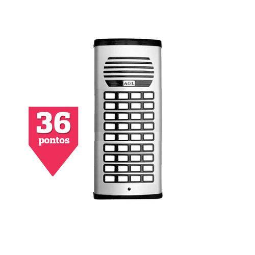 Porteiro Eletrônico Coletivo de 36 Pontos AGL
