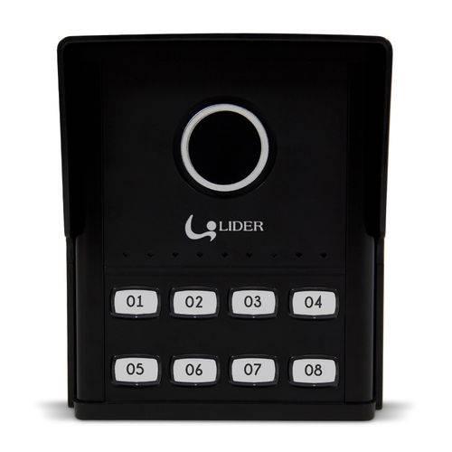 Porteiro Eletrônico Externa Coletivo Smart 8 Pontos Lider