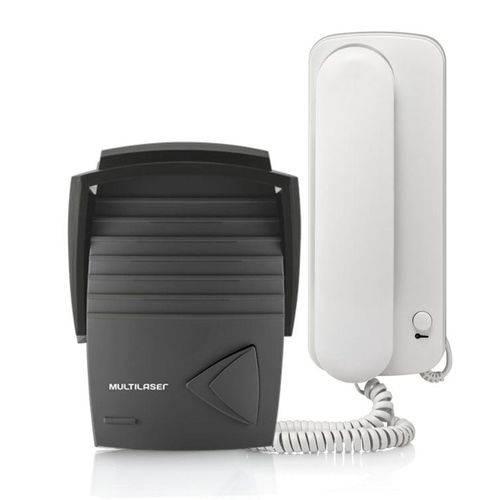 Porteiro Eletrônico Interfone + Unidade Externa Bivolt SE401 Multilaser