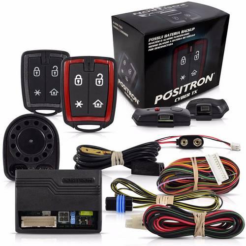 Positron Cyber Tx290 Alarme P/ Caminhao C/02 Contr.011144000