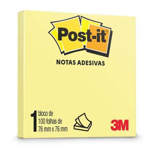 Post-it 654 76mm X 76mm 100 Fls. Amarelo 3m 01516