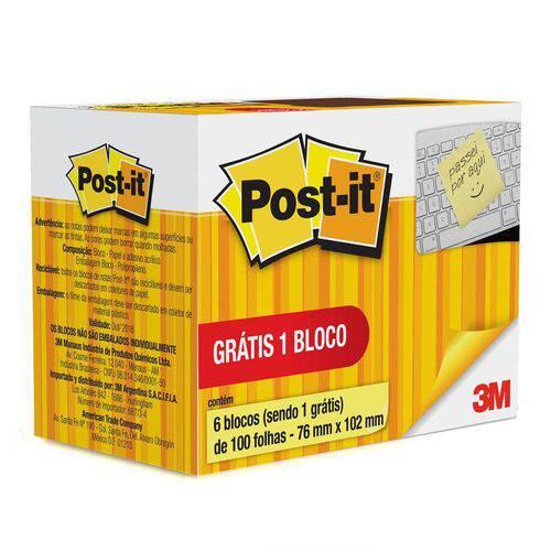 Post-it 657 76 X 102mm 600 Folhas Post-it 3M