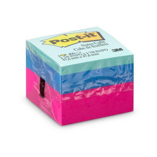 Post-it Cubinho Ultra 47,6 X 47,6 Mm 400 Folhas Post-it 3M
