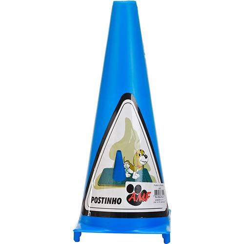 Postinho para Sanitário Canino - Azul - AMF Pet