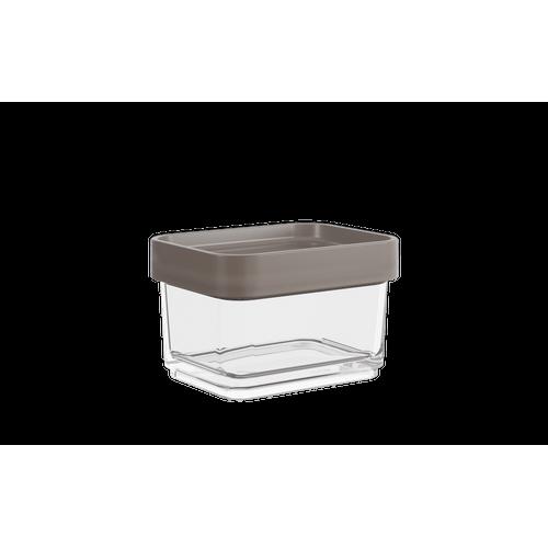 Pote Clear Micro 100ml 6,2x8x5cm Warm Gray Coza
