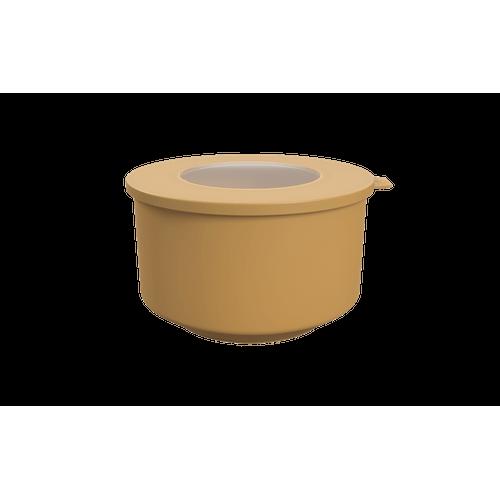Pote Hoop 2L 18,3x19,6x11cm Amarelo Quente Coza