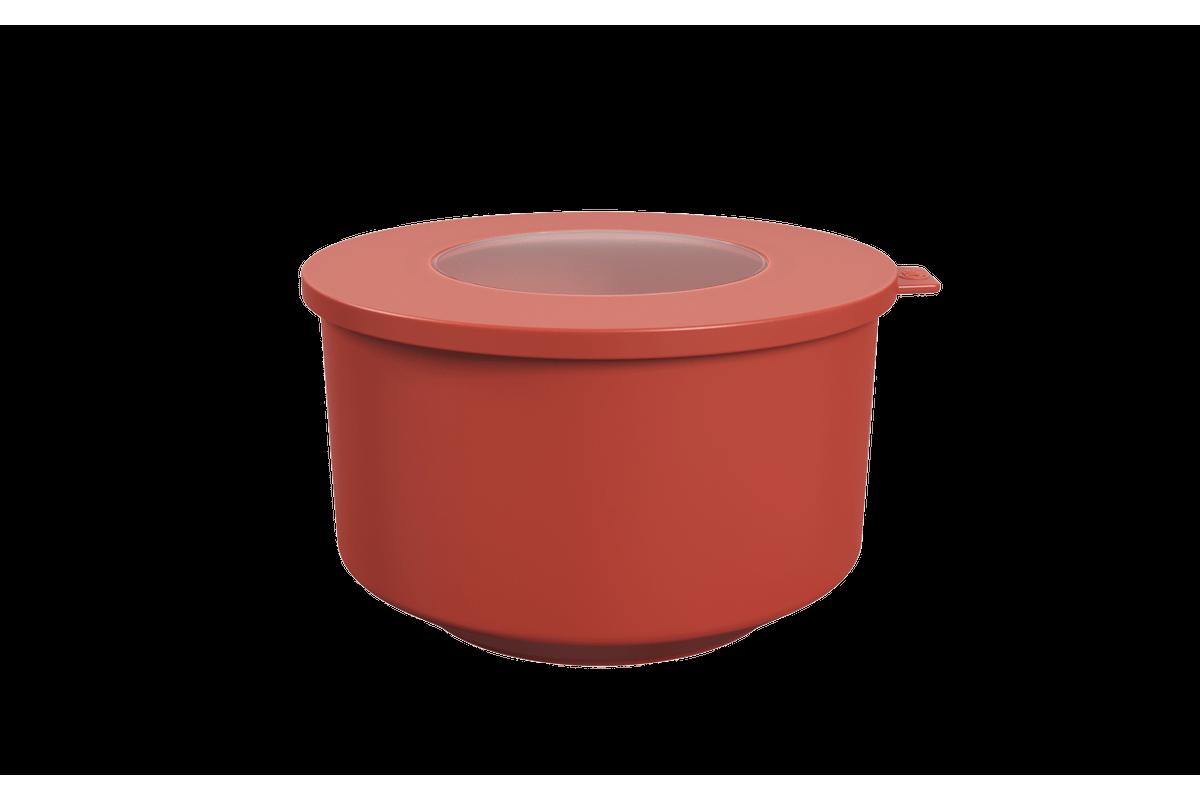 Pote Hoop 2L 18,3x19,6x11cm Vermelho Goiaba Coza