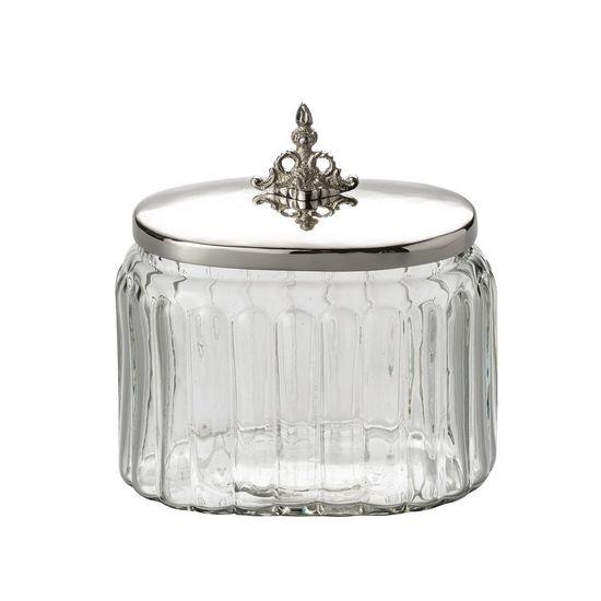 Pote Oval Salsidar em Vidro Pequeno