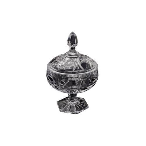 Potiche Decorativo C/ Pé de Cristal Prima 3720 - Lyor