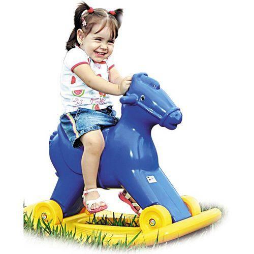 Potrinho Balanço Azul - Alpha Brinquedos