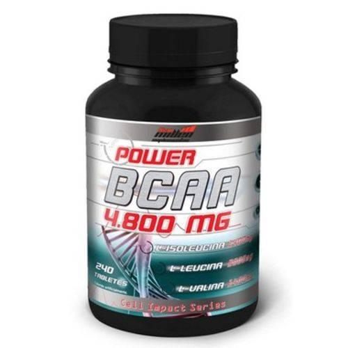 Power Bcaa 4.800mg (240 Tabletes) - New Millen