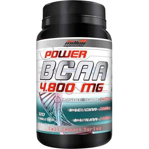 Power BCAA 4800mg 120 Tabletes New Millen