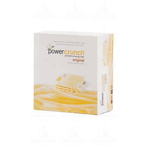 Power Crunch Protein Energy Bar Original (Caixa com 12 Unidades) - BNRG - French Vanilla Créme (Crem