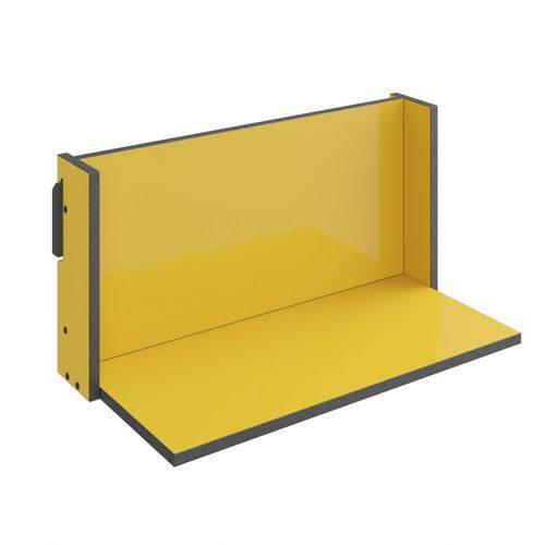 Prateleira 59,5cm Mov Be Mobiliário Amarelo