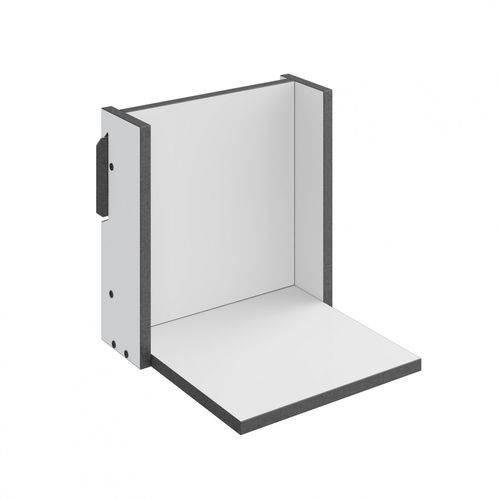 Prateleira 29,5cm Mov Be Mobiliário Branco