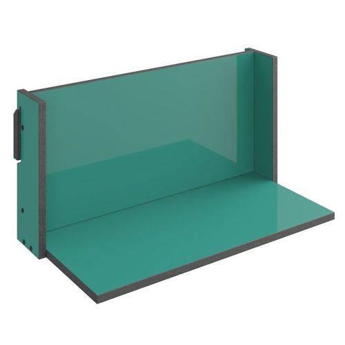 Prateleira de Parede Decorativa Mov 1006 Turquesa - Be Mobiliário