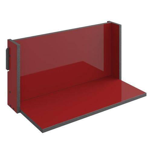 Prateleira de Parede Decorativa Mov 1006 Vermelho - Be Mobiliário