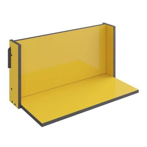 Prateleira Decorativa 59,5 Cm 1006 Mov Amarelo - Bentec