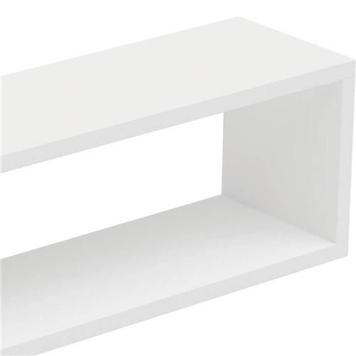 Prateleira MDP BPL Branca (30x90x25cm) - BRV