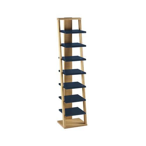 Prateleira Torre Stairway - Azul Escuro - Maxima
