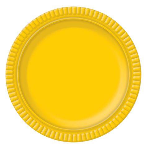 Prato Amarelo No5 28cm - Ultrafest