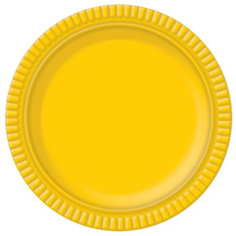Prato Amarelo No6 32cm - Ultrafest