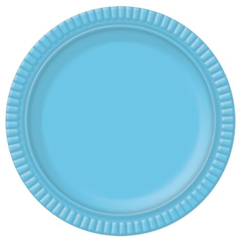 Prato Azul Claro No5 28cm - Ultrafest