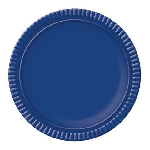 Prato Azul Escuro No4 25cm - Ultrafest