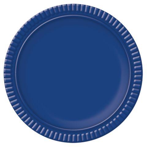 Prato Azul Escuro No5 28cm - Ultrafest