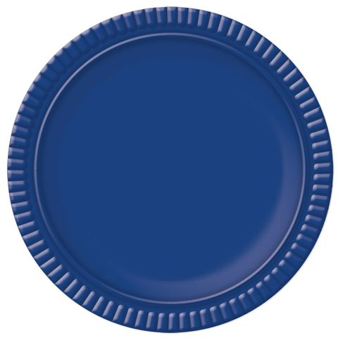 Prato Azul Escuro No6 32cm - Ultrafest