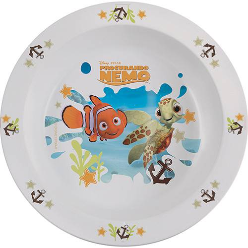 Prato Bowl Nemo BabyGo Branco