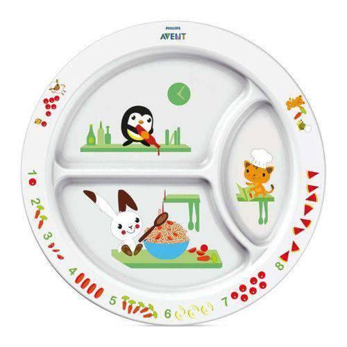 Prato de Alimentação Infantil com Divisória - Philips Avent