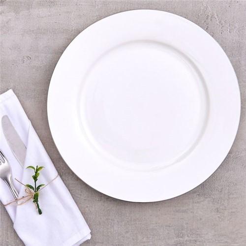 Prato de Jantar Bone China Havan Porcelana