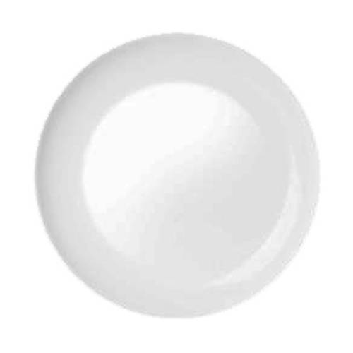 Prato de Sobremesa Temperado Opaline Blanc 19cm - Nadir Figueiredo