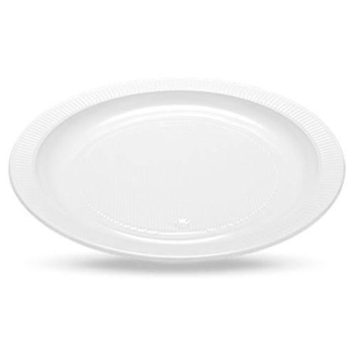 ¿prato Descartável | 21cm | Cristalcopo C/10